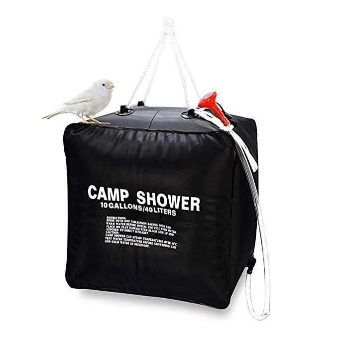 bucket camping showers