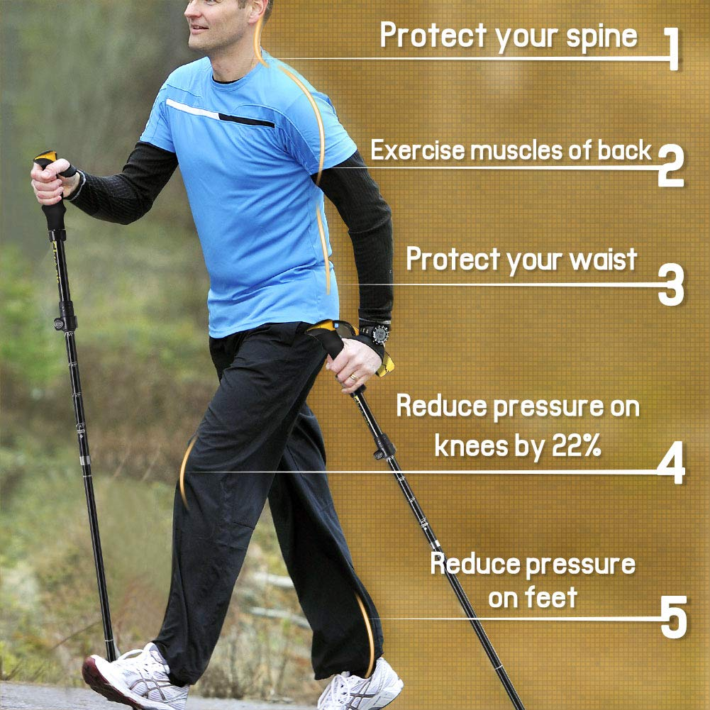trekking pole benefits