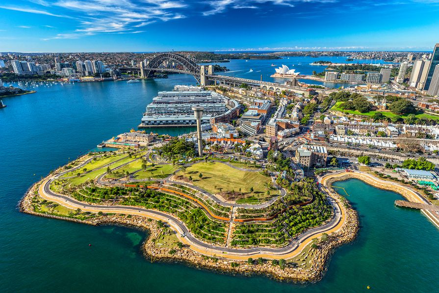 The Barangaroo Reserve