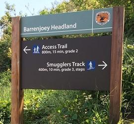 smugglers track